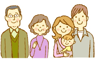 親子三世代